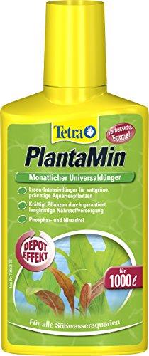 Tetra PlantaMin Universaldünger (flüssiger Eisen-Intensivdünger für prüchtige und gesunde Wasserpflanzen, wirkt bis zu 4 Wochen), 250 ml Flasche