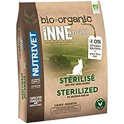 Nutrivet INNE PET FOOD Aliment Complet Bio pour Chat Stérilisé 1,5 kg