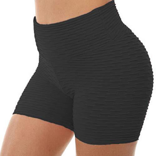 Watopi Frauen Hohe Taille Yoga Hosen Schlanke Yoga Hosen Fitness Hosen Hüften Enge Yoga Shorts -