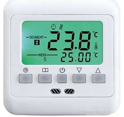 SM-PC®, Raumthermostat Thermostat programmierbar Digital #741g von sm-pc bei Lampenhans.de