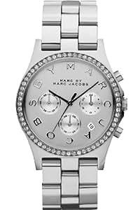 Marc Jacobs - MBM3104 - Montre Femme - Quartz - Chronographe - Bracelet Acier Inoxydable Argent