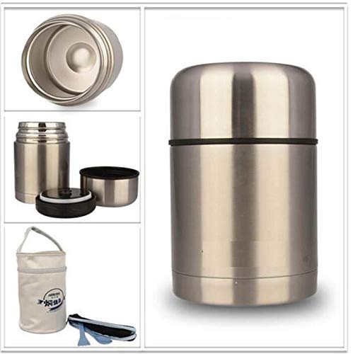 Ari_Mao 600 ml Edelstahl Vakuum Isolierte Tasche lebensmittelbehälter leer Lunchbox Thermos