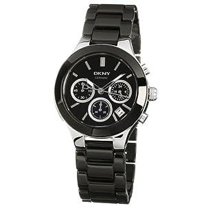 Reloj DKNY NY4914 de cuarzo para mujer con correa de cerámica, color negro de DKNY