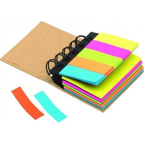 Caja de Notas 'Multi Memo' Bloc de notas carpeta de conferencias, color marrón