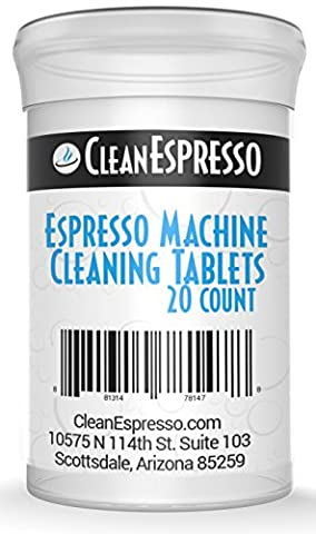 (20 Pack) Espresso Machine Cleaning Tablets - Model BR-020 - Breville Espresso Machine Cleaner.