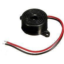 seguryy Piezo electrónico tono timbre alarma 95DB sonido continuo 12V de montaje Agujero FHRG
