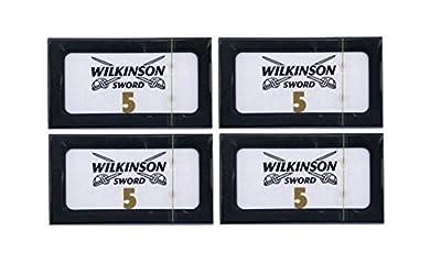 20 wilkinson sword double edge razors - (4 packs of 5) by Wilkinson