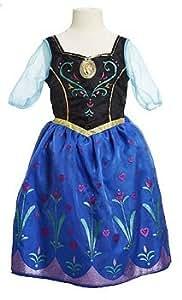 """De WALT DISNEY Frozen Anna Musical Lumineux robe taille Age 4x 4–6X et Joue la chanson """"pour la première fois dans Forever Film de la"""