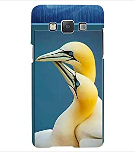 ColourCraft Love Design Back Case Cover for SAMSUNG GALAXY E5