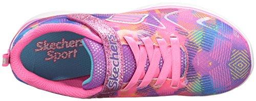 Skechers Spirit Rainbow Raz 81337LNPMT, Scarpe sportive Rose