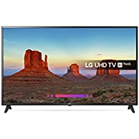 LG 43UK6200PLA 43-Inch 4K UHD HDR Smart LED TV with Freeview Play (2018 Model) - Black