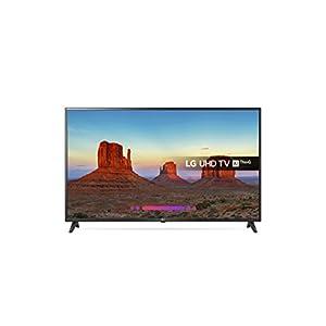 LG 43UK6200PLA Premium 4K Ultra HD HDR Smart OLED TV (2018 Model) – Black