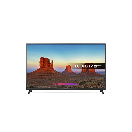 LG 55UK6200PLA 55-Inch 4K UHD HDR Smart LED TV with Freeview Play (2018 Model) - Black