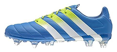 adidas Herren Ace 16.1 SG Leather Fußballschuhe, Azul / Verde