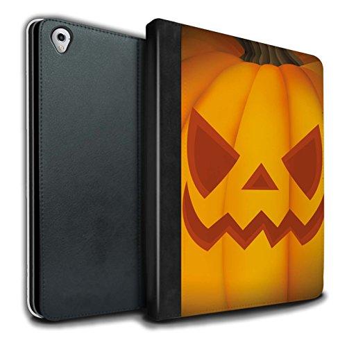 �lle/Case/Brieftasche für Apple iPad Pro 9.7 Tablet/Böse Muster/Halloween Kürbis Kollektion ()