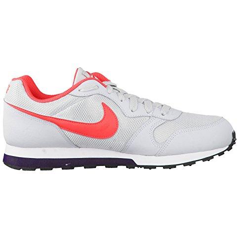 Nike Mädchen 807319-003 Turnschuhe Grau