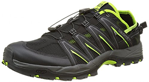 Salomon Lakewood Baskets - noir/noir/vert Multicolore - Multicolore
