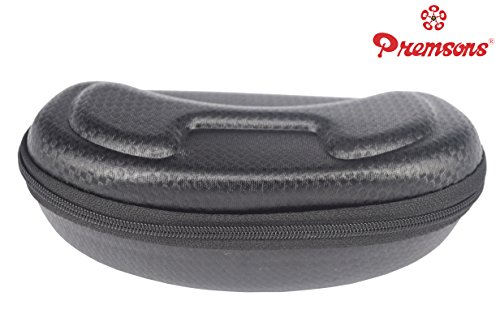 Sunglasses Hard Cover Case (Black) New Arrival Best Selling Premium Quality Lowest Price Holder Box, Designed to Hold All Types of Sunglasses, Spectacles & Goggles, Inner Cushioning, Complete Safety for Eye Wear, Shelters Your Glasses from Crushing, Shock & Scratches, Beautiful Accessory, Portable Protector, Keeps Your Shades Safe in Style, Convenient to Handle & Easy to Take Around, Comes with Zipper, Trendy, Fashionable, Durable, Rough & Tough Use  available at amazon for Rs.199