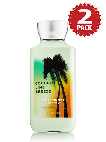 Bath & Body Works Körperlotion 2er Pack - Coconut Lime Breeze (2x236ml)
