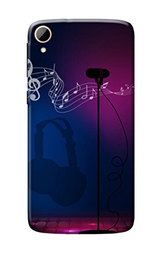 HTC Desire 828 Cover, Premium Quality Designer Printed 3D Lightweight Slim Matte Finish Hard Case Back Cover for HTC Desire 828 + Free Earphone Cable Organizer