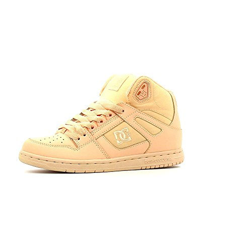 DC Damen Schuhe / Sneaker Rebound High orange 37 (Damen High Dc Schuhe Skate)