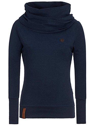 Naketano Female Sweatshirt Kurzer Schniedelwutz IV Dark Blue