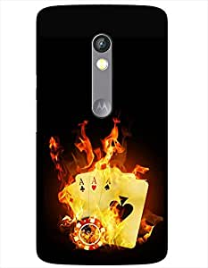 Doyen Creations Designer Printed High Quality Premium case Back Cover For Moto G3