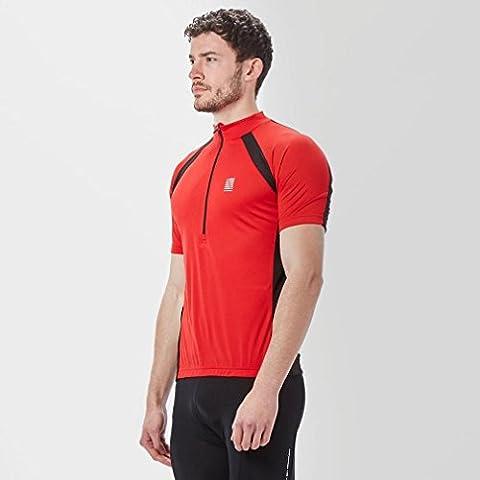 Altura Men's Airstream Short Sleeve Jerseys, Red/Black,