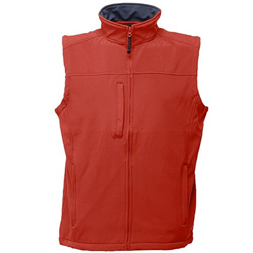 Regatta Flux Veste Softshell sans manches Rouge/Gris