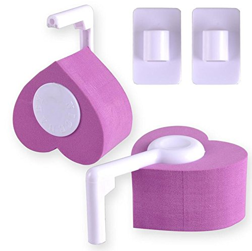kingken 2Pcs praktischer Schutz Baby Kinder Finger Sicherheit Pinch Scharnier und Tür Guard 17x19x5cm violett