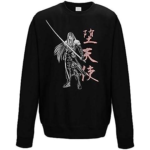 suéter de cuello redondo sudadera hombre Long sword warrior