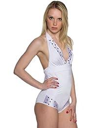 TrendClub100® Sexy Monokini Style Badeanzug - Angela