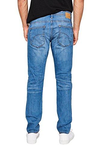 edc by ESPRIT Herren Slim Jeans Blau (Blue Light Wash 903)