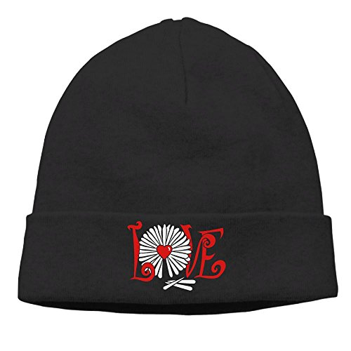 Jxrodekz Daisy Loves Me (2c) Men Knitted Hats Winter Warm Caps Outdoor Sport Ski Cap -