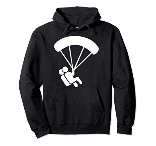 Tandem Fallschirmspringen Pullover Hoodie