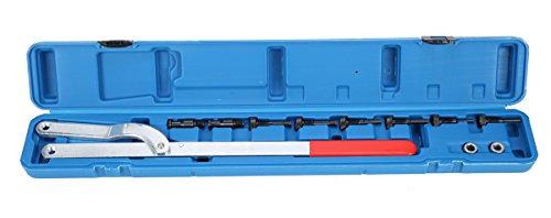 FreeTec Gegenhalter Werkzeug Gegenhalteschlüssel KFZ Fahrzeug Nockenwellenrad Satz