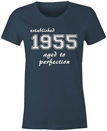 Established 1955 aged to perfection  ?Rundhals-T-Shirt Frauen-Damen