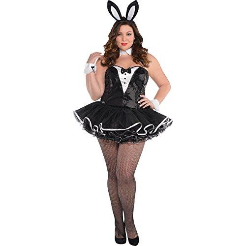 """Playful Bunny"" Kostüm Damen Gr. (Black & White Sexy Bunny Kostüme)"