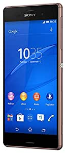 Sony Xperia Z3 Smartphone Débloqué 4G (Ecran : 5.2 pouces - 16 Go - IP 65 / IP68, Waterproof - Android 4.4 KitKat) Cuivre