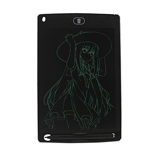 Preisvergleich Produktbild FDG 8, 5-Zoll-LCD-Schreibplatte / Pad / Board,  Geschäft Memo,  Grafiktablett,  Kinder Reißbrett,  Schreibtafeln,  Familie Memoboards(Schwarz)