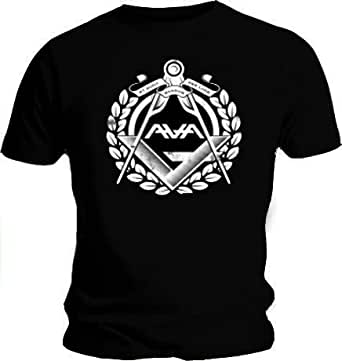 Official T Shirt ANGELS AND AIRWAVES Black COMPASS L