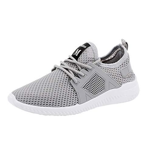 MEIbax Uomo Scarpe Running, Scarpe da Ginnastica in Mesh a Rete Casual Sneaker da Lavoro Leggere Eleganti Sport Scarpe Outdoor Fitness Trekking Estive Running Shoes