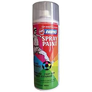 ABRO SP-39 Multipurpose Colour Spray Paint Can for Cars and Bikes (Glossy Black, 400ml) & ABRO SP-35 Multipurpose Colour Spray Paint Can for Cars and Bikes (Gold, 400ml)