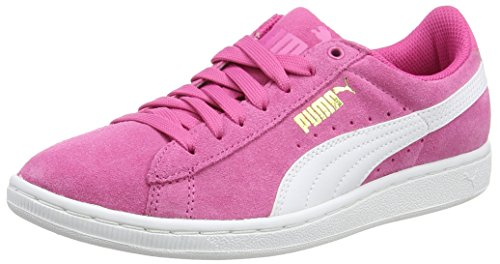 Puma Vikky Winterised, Damen Basketballschuhe, Pink (carmine Rose-white), 42 EU