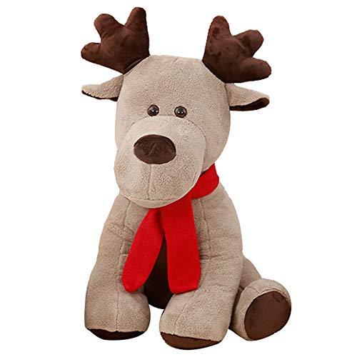 Plüschtier Weihnachten Elk Puppe Puppe, Freundin Geburtstagskind Urlaub Geschenk Kissen Kissen, Corporate Event Geschenk 28cm / 38cm / 65cm