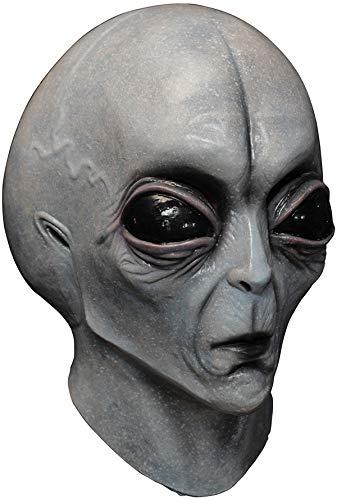 Generique - Maske AußerirdischerArreal 51 - Hand bemalt