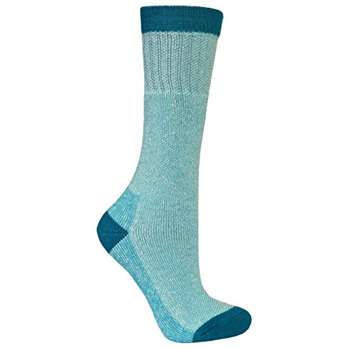 Trespass Damen Caray Socken/Wandersocken (36-39 EU) (Türkis/Blau)