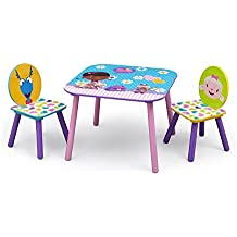 Doc McStuffin - Juego de silla y mesa de madera