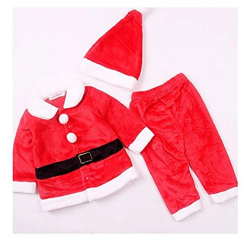 Prinzessin Und Prinz Partei Ideen - XSZD Weihnachten Weihnachtsmann Kinder-Kostüm-Set Plüsch Warm