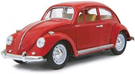 Jouetprive-Voiture radiocomFemmedée Coccinelle VW en métal rouge   Luxuriante Dans La Conception